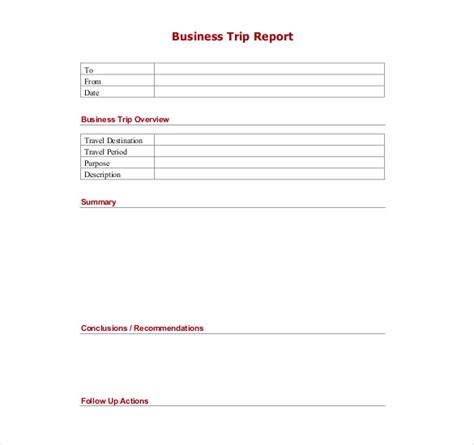 business report template word trip report template 11 free word pdf documents free premium templates