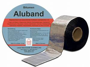 Garagendach Abdichten Bitumen : online shop latzel d mmstoffe bitumen aluband 100 mm rolle 10 meter ~ Frokenaadalensverden.com Haus und Dekorationen