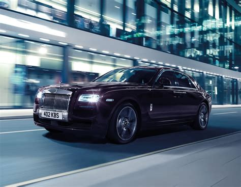 Rolls Royce Limited Edition by Rolls Royce Limited Edition Ghost V Specification
