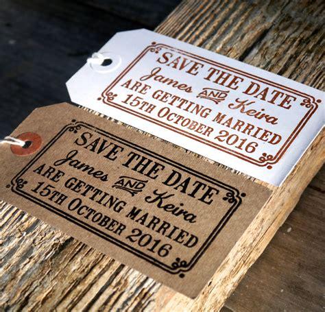 save  date wedding stamp  border  english stamp company notonthehighstreetcom