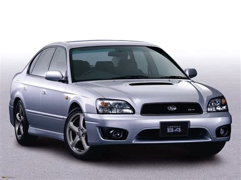 Pictures of Subaru Legacy 2.0 B4 RSK (BE,BH) 1998–2003 ...