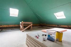 Trockenbau Dachschräge Anleitung : trockenbauwand an einer dachschr ge anbringen so geht 39 s ~ Watch28wear.com Haus und Dekorationen