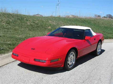 1996 Chevrolet Corvette For Sale  Classiccarscom Cc972980