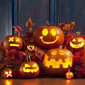 Une Citrouille Pour Halloween : comment sculpter une citrouille elle table ~ Carolinahurricanesstore.com Idées de Décoration