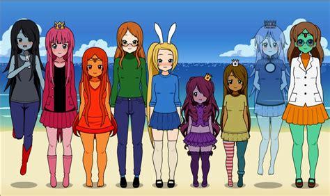 Anime Naruto Girl Creator K On Dress Up Adventure Time By Veronica Sullivan On