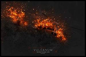 Vulcanum - Fire & Ashes Photoshop Action by profactions