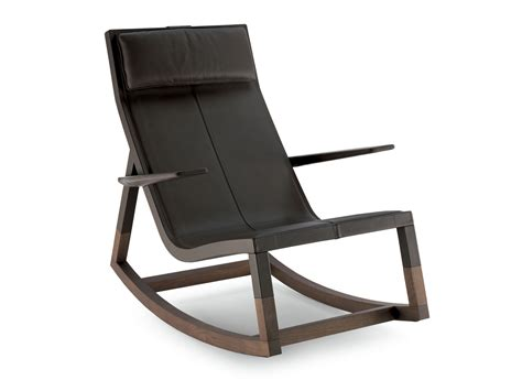 Buy The Poltrona Frau Don'do Rocking Chair At Nest.co.uk