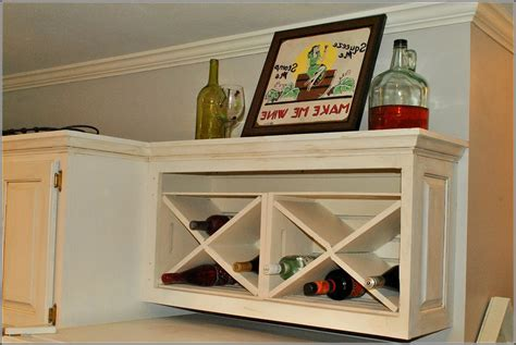 how to build a wine cabinet how to build a wine rack in a kitchen cabinet trekkerboy