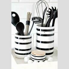 17 Best Ideas About Black White Kitchens On Pinterest