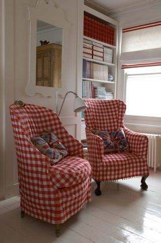 cottage kitchen chairs 95 best gingham images on chess blue tiles 2640