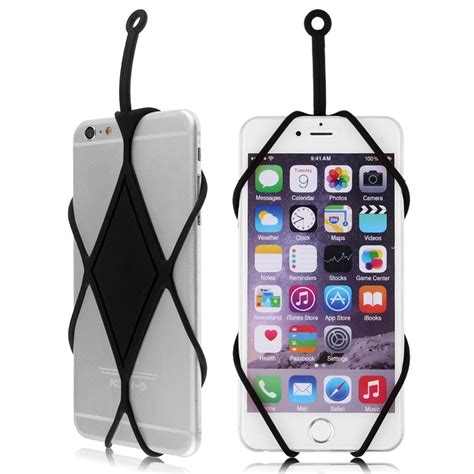 cell phone holder for new silicone lanyard case cover holder sling necklace