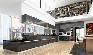 Cuisine Moderne Design : concevoir une cuisine moderne et design cuisines rema ~ Preciouscoupons.com Idées de Décoration