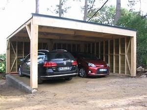 Construire Un Carport : fabriquer un carport en bois ~ Premium-room.com Idées de Décoration