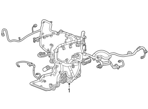 Oem Chevrolet Silverado Wiring Harness Parts