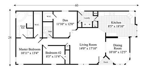 The Brook Model Home Floor Plan 1 606 sq ft 2 bedrooms