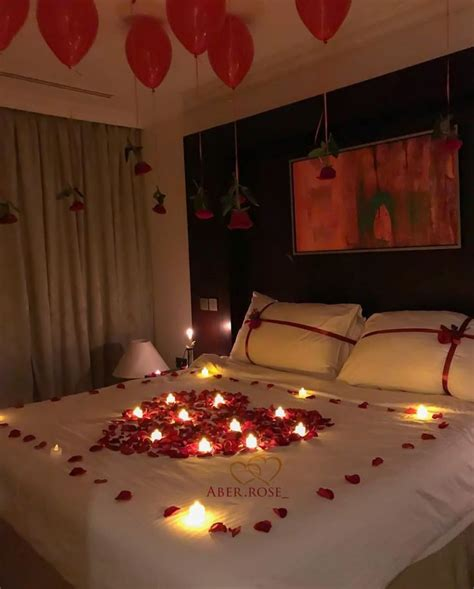 decorate bedroom  romantic night bedroom ideas