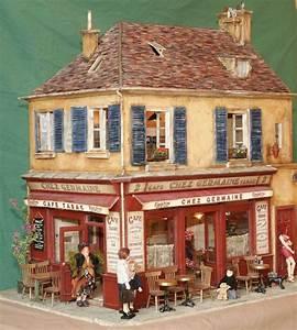 Maison De Noel Miniature : chez germaine dollhouses 1 12 pinterest miniature maison miniature et cr che ~ Nature-et-papiers.com Idées de Décoration
