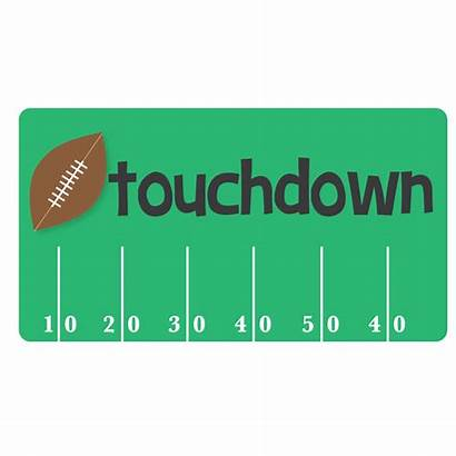 Football Clip Clipart Field Goal Touchdown Bowl