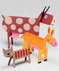 Kids Crafts: Kids Crafts Amazing 3D Crafts For Kids With
