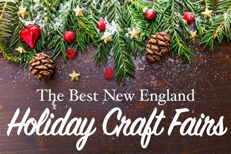 Best Holiday Craft Fairs In New England