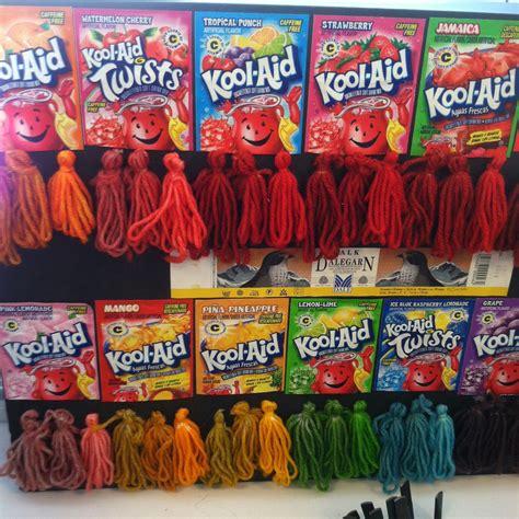 Kool Aid Dying The Next Level The Yarn Marm Knitting
