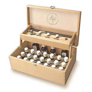 coffret bois huiles essentielles heureexacte