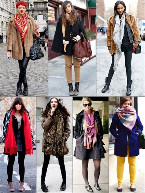 ways  tie  scarf   styles   occasions