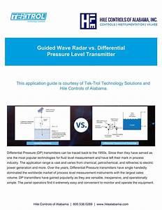 Guided Wave Radar Vs Differential Pressure Level Transmitter