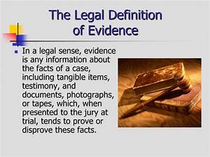 Ppt criminal evidence powerpoint presentation id1402447 for Documents legal definition