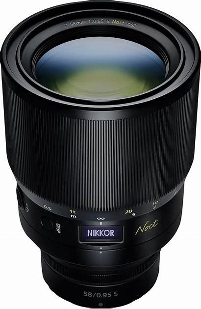 Lens Noct Nikkor Nikon 58mm