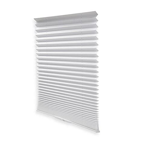 bed bath and beyond window blinds buy redi shade 174 easy touch 174 48 inch pleated window shade