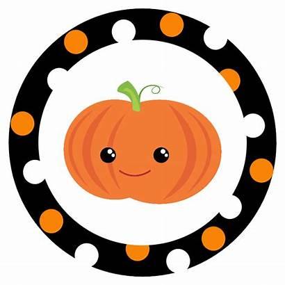 Halloween Stickers Printable Clipart Pumpkin Clip Tags