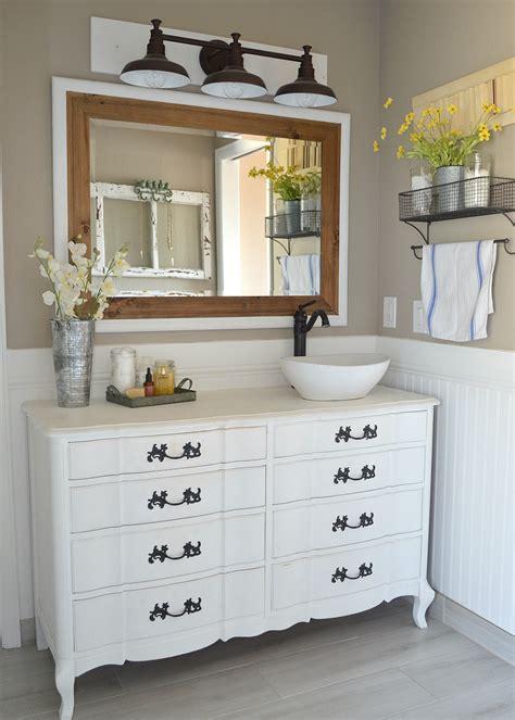 modern bathroom decor ideas honest review of my chalk painted bathroom vanities