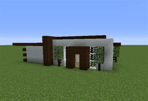 simple survival modern house blueprints  minecraft