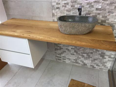 Waschtisch Holz Mit Aufsatzwaschbecken by Aufsatzwaschbecken Auf Holz Waschtisch Mit Unterschrank