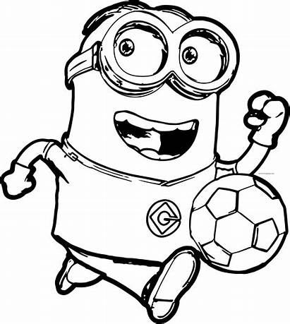 Minion Printable Coloring Pages Printables