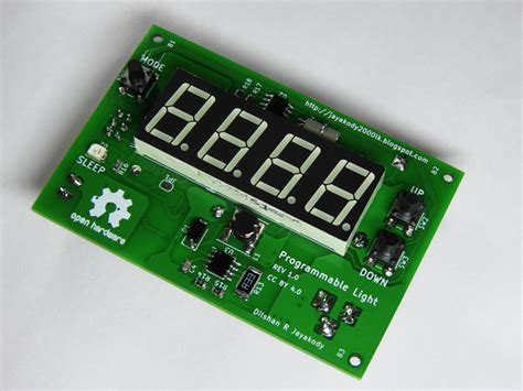 Programmable Light Controller With Atmega