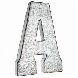 metal letters galvanized metal and letters on pinterest With aluminum letters hobby lobby