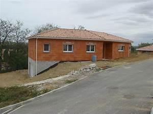 construction dune maison en v a pompertuzat en haute With construction maison terrain en pente