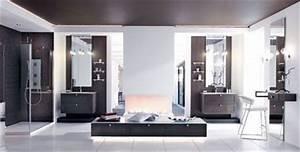 Coiffeuse Salle De Bain : les nouveaux styles de la salle de bains c t maison ~ Teatrodelosmanantiales.com Idées de Décoration