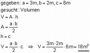 Volumen Quader Berechnen : volumenberechnung i ~ Themetempest.com Abrechnung