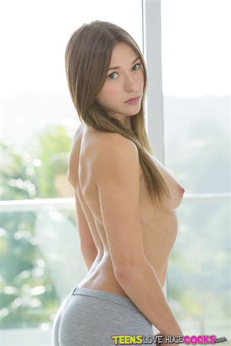 Lovely Brunette Is Slowly Getting Naked photos  Callie