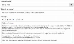 Modele De Lettre De Relance : relance facture client logiciel evoliz la solution pour vos impay s ~ Gottalentnigeria.com Avis de Voitures