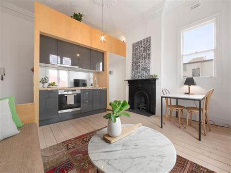 agrandir une cuisine aménagement de studio avec lit mezzanine