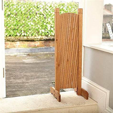 Expanding Trellis Fence by Expanding Trellis 190 X 90cm Brown Wooden Freestanding
