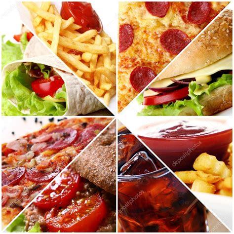 cuisine stock fast food collage stock photo yekophotostudio 5974401