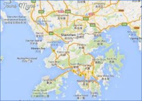 awesome shenzhen map hong kong map shenzhen travel maps