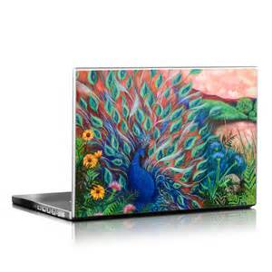 Decalgirl laptop skin - coral peacock (skin only)