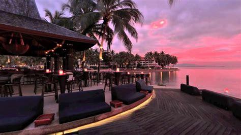 sunset bar  shangri las tanjung aru resort spa kota