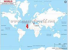Where is Tunisia? Location Map of Tunisia